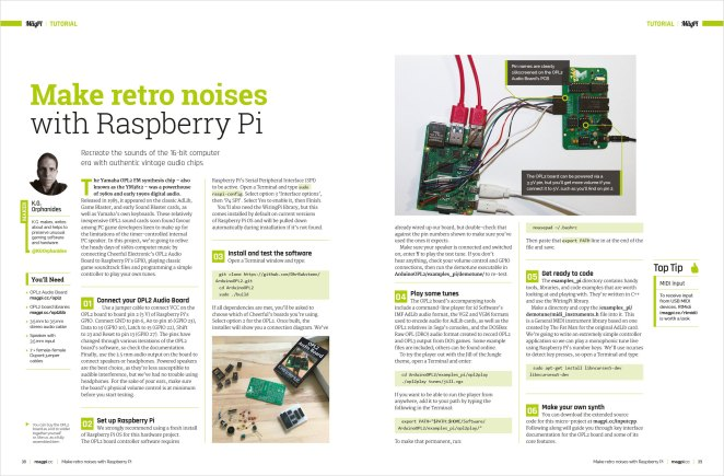 Make retro noises with Raspberry Pi