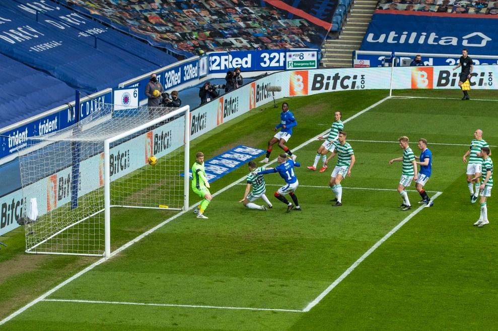 180421 Rangers v Celtic, Kent Goal 38