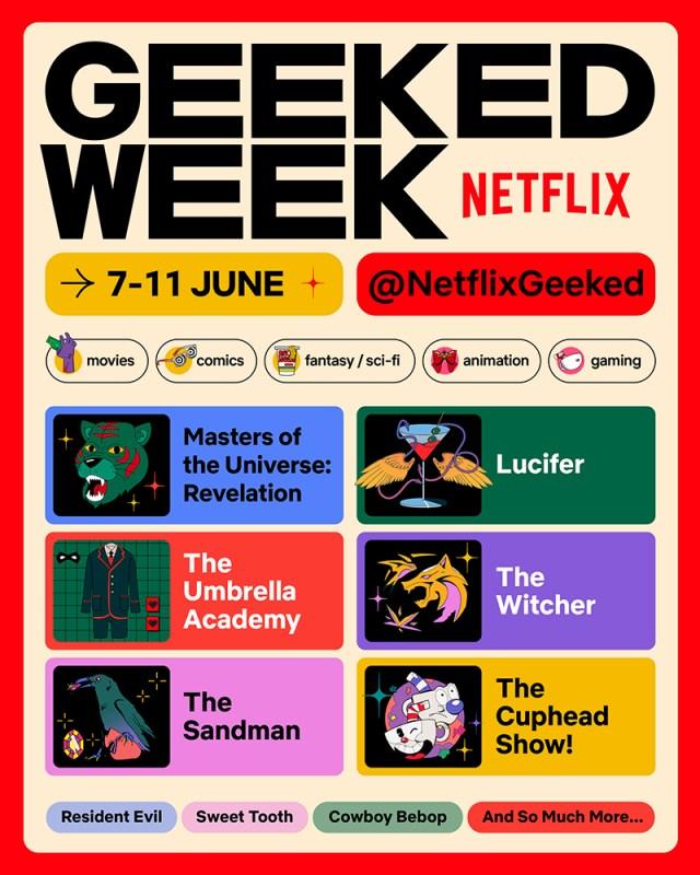 Primeira Semana Geek da Netflix celebra os fãs