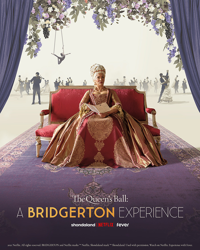 'The Queen's Ball: A Bridgerton Experience' Coming to Cities Across the Globe in Early 2022