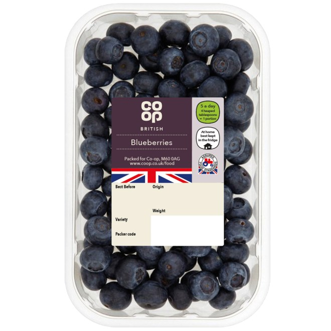 Co-op Blueberries Punnet - Co-op