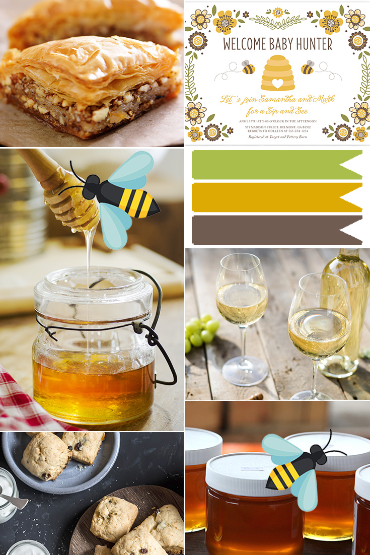 We love sites like minted and paperless post for designing custom digital invitations to gather your crew. Sip And See Party Invitations Menu Ideas And More
