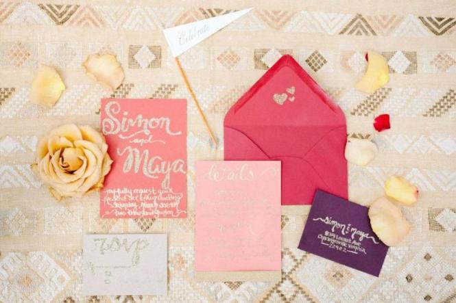Wedding Invitations A Guide To Envelopes Zola Expert