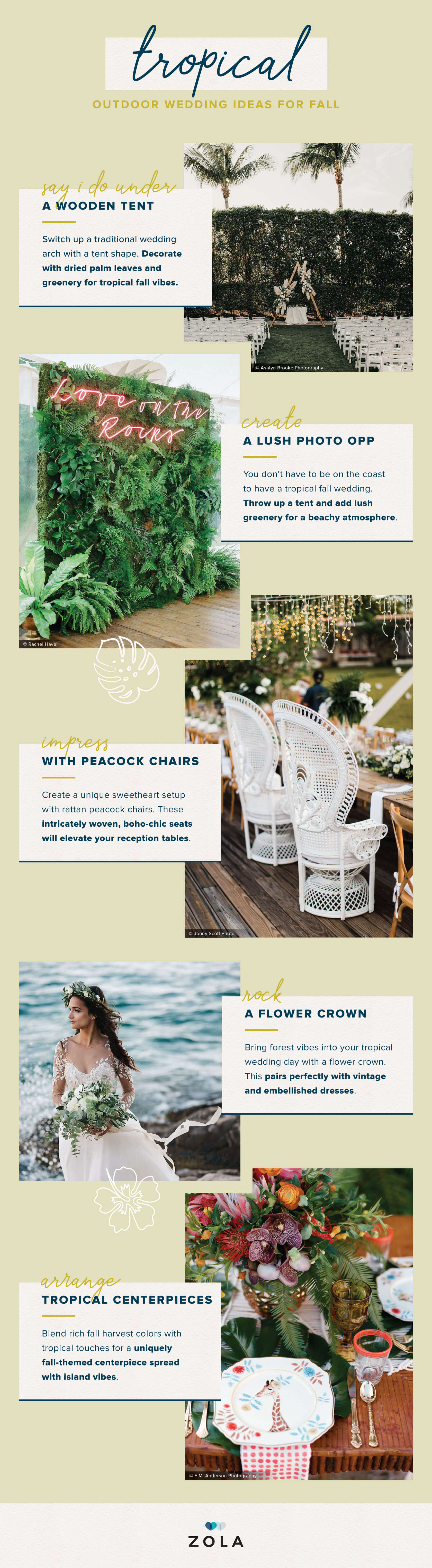 25 Outdoor Wedding Ideas For Fall We Can T Get Enough Of Zola Expert Wedding Advice