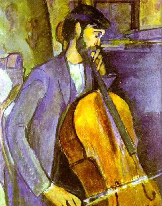 study for the cellist