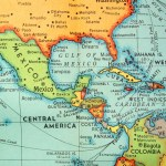 Where Is The Panama Canal On A Map World Map Atlas