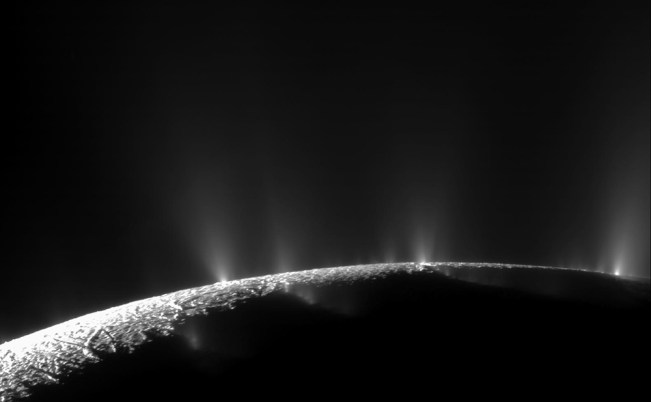 Jets of Enceladus