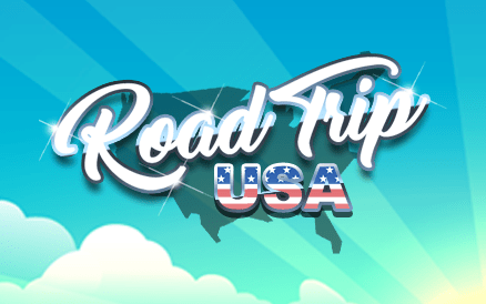 Michigan Lottery Road Trip USA Game Logo