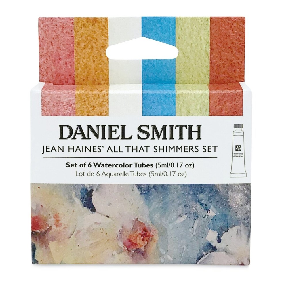 Daniel Smith Extra Fine Watercolor - Jean Haines' All That Shimmers Assorted