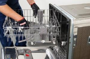 a dishwasher upper rack height adjuster