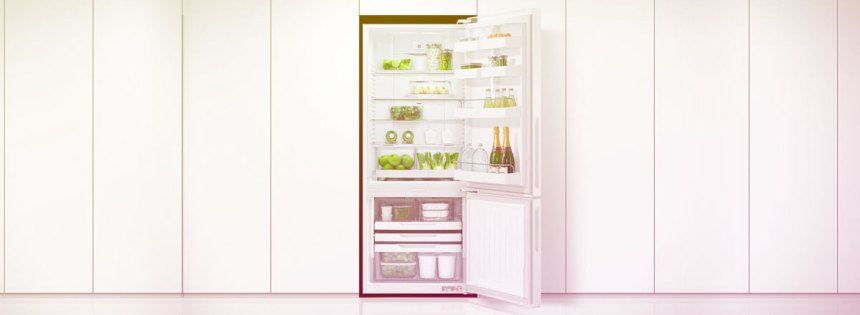 the most common of household appliances - a fridge