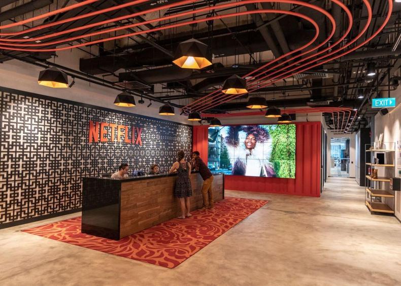 Image result for netflix offices inside
