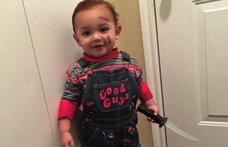 Get inspired with these great costumes, from totally cute to a downright creepy! 11 Baby Halloween Costumes That Creep Us Out Cafemom Com
