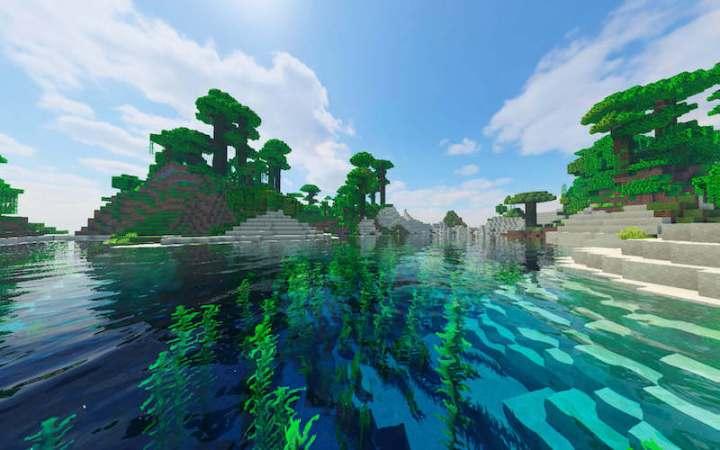 Juego de Minecraft construido con Java