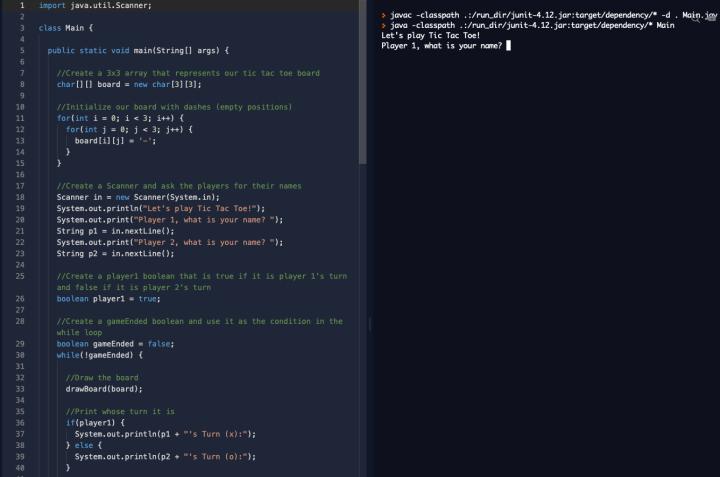 líneas de código en Java