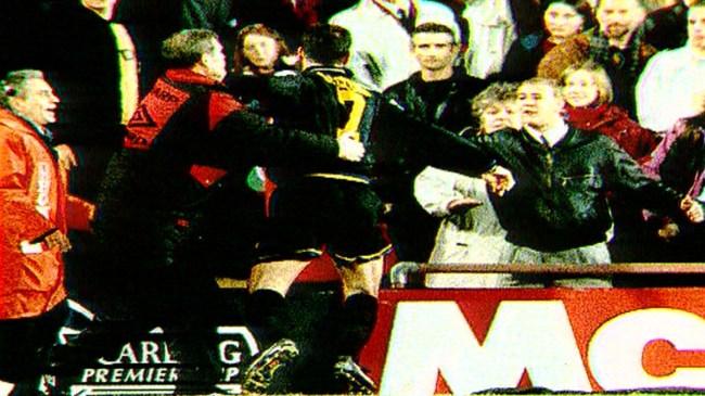 Han avslutade karriären i manchester. Through Their Eyes Eric Cantona S Kung Fu Kick 25 Years On Itv News