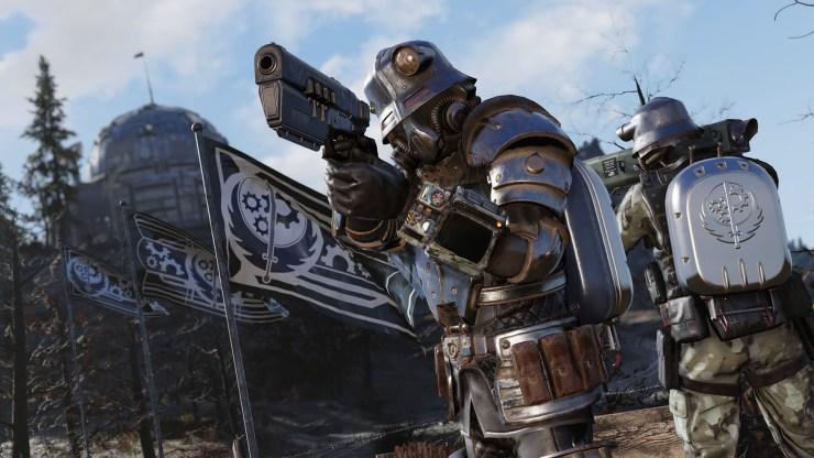Fallout 76: semana gratis con el evento la tormenta que se avecina y el adiós para Nuclear Winter hermandad del acero battle royale recompensas