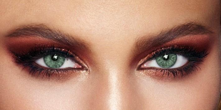 makeup for green eyes - eyeshadow & more   charlotte tilbury