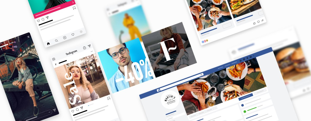 It's accessible through computers and smartphones for quick access to the l. Get The Social Media Campaign Ready For Your Business Using Mockups Smartmockups Blog