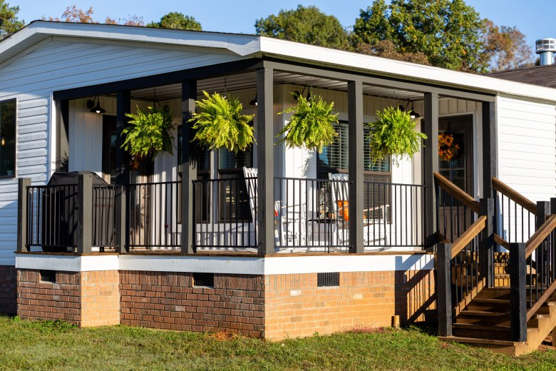 manufactured home porches and patios