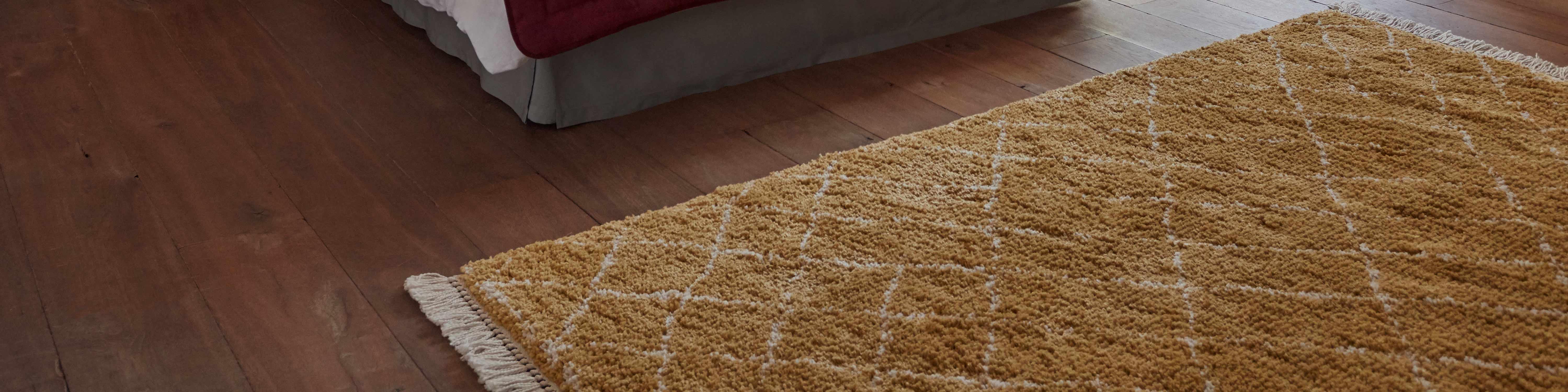 tapis jaune tapis moutarde tapis camel tapis jaune moutarde saint maclou