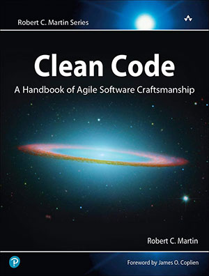 Clean Code Book Cover the best software engineering books