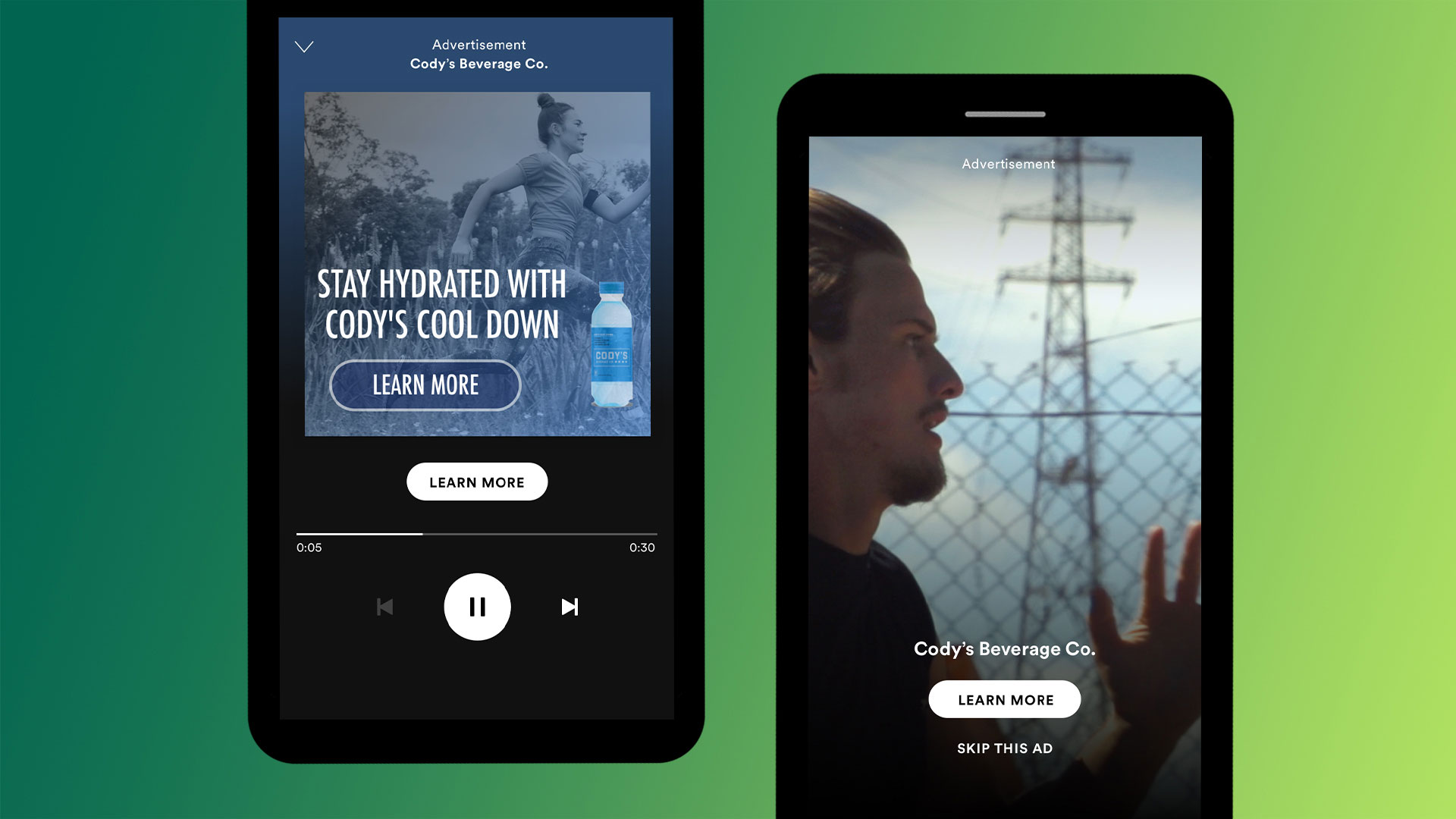 Image result for audio ads spotify