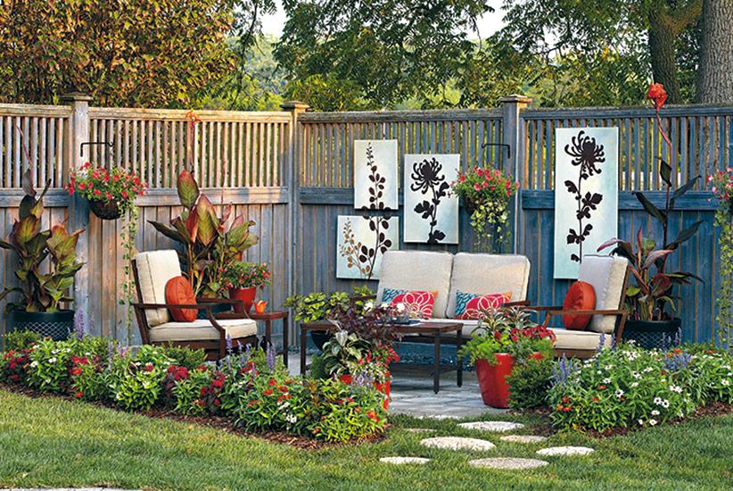 patio design ideas garden gate