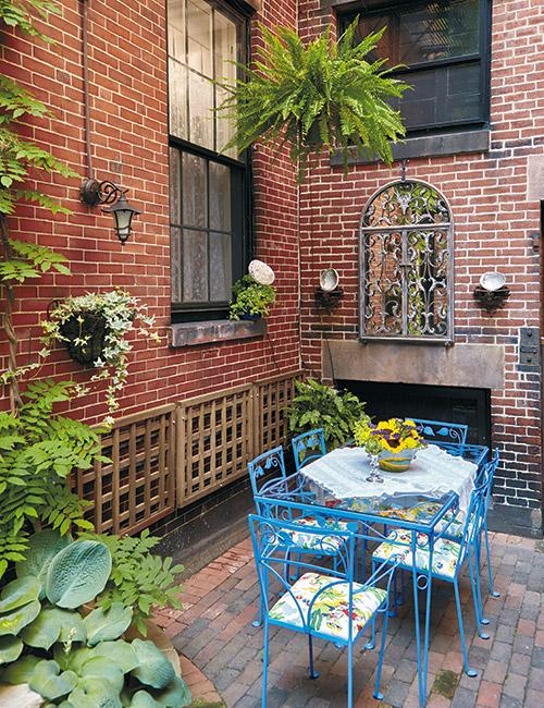 urban garden oasis garden gate
