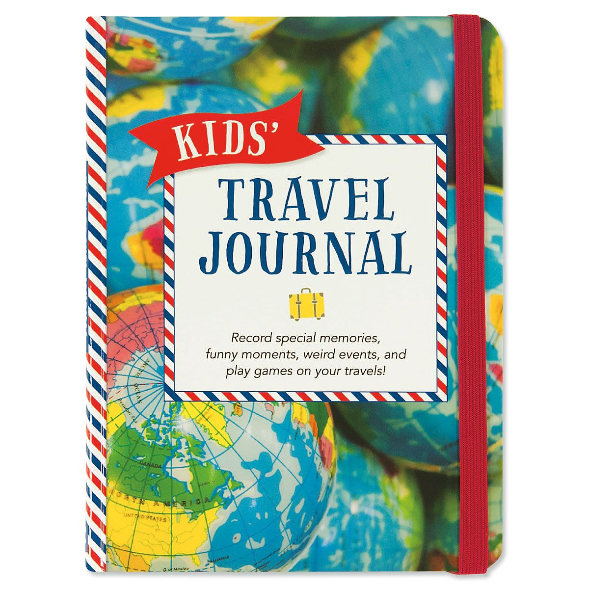 Kids Travel Personalized Journal Current Catalog