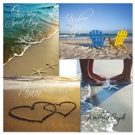8 On The Beach Anniversary Cards Current Catalog