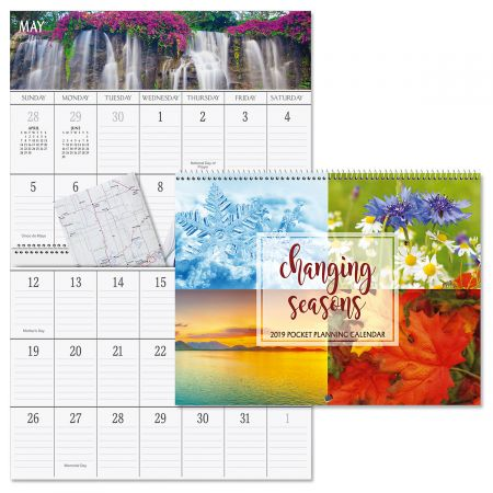 2019 Four Seasons Big Grid Planning Calendar Current Catalog
