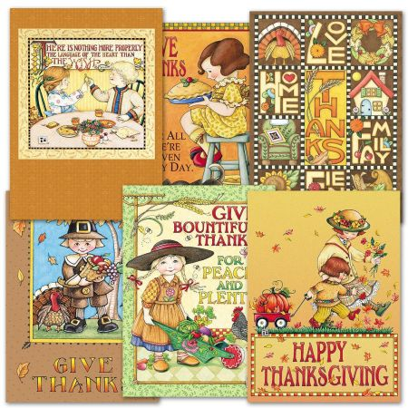 Mary Engelbreit Thanksgiving Cards Current Catalog