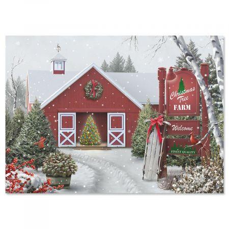 Tree Farm Religious Christmas Cards Current Catalog