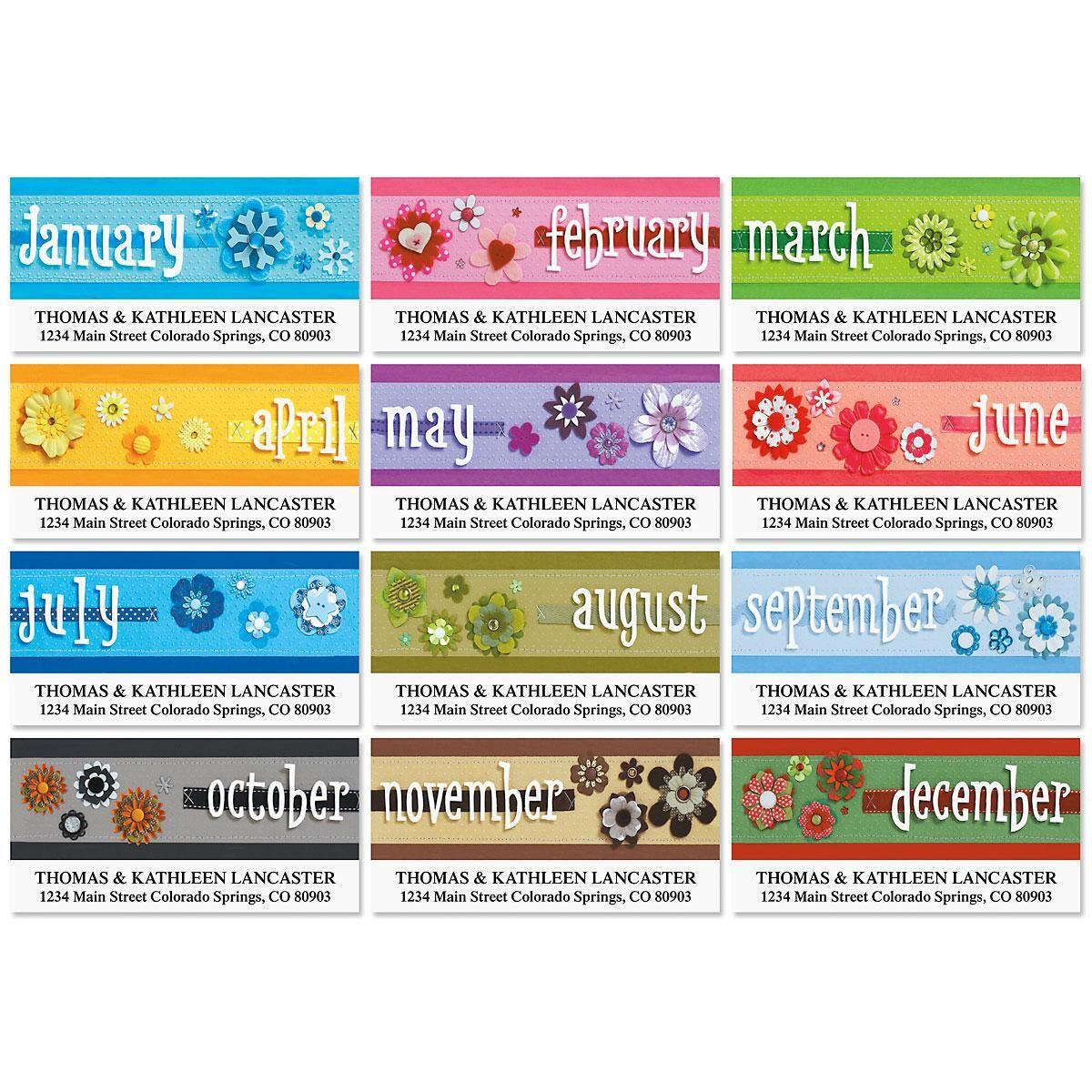 Four Seasons Address Labels