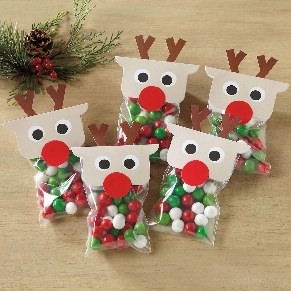 Treat Bags With Reindeer Toppers Current Catalog