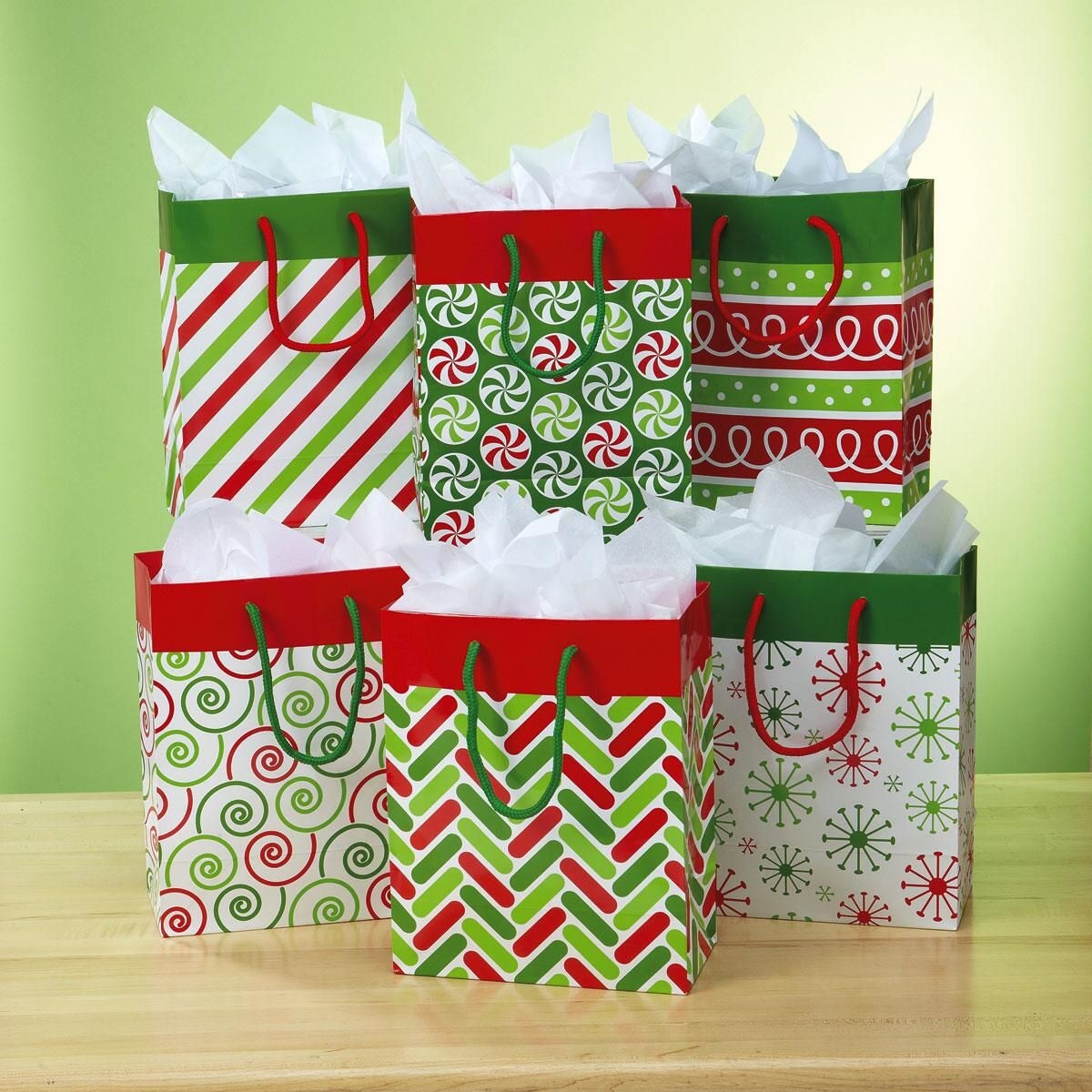 Very Merry Gift Bags Current Catalog