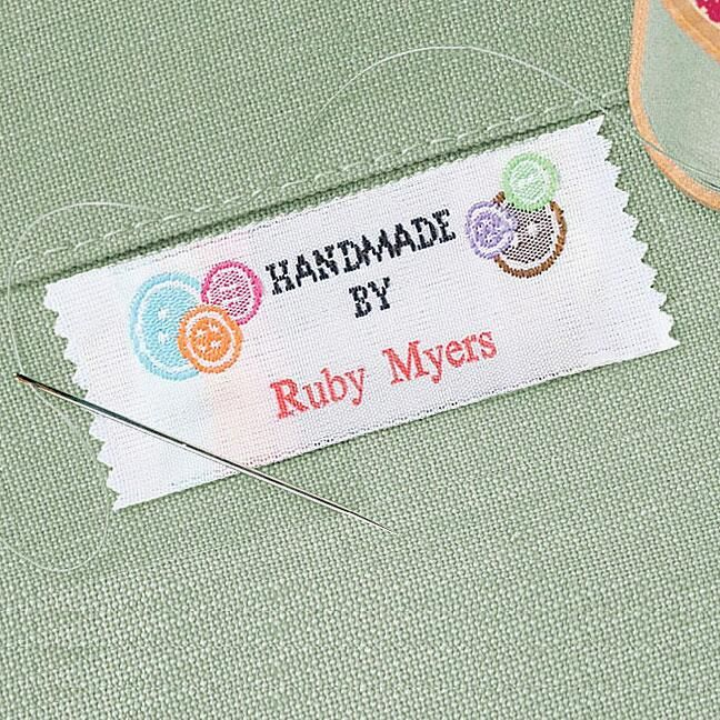Handmade By Sewing Labels Current Catalog