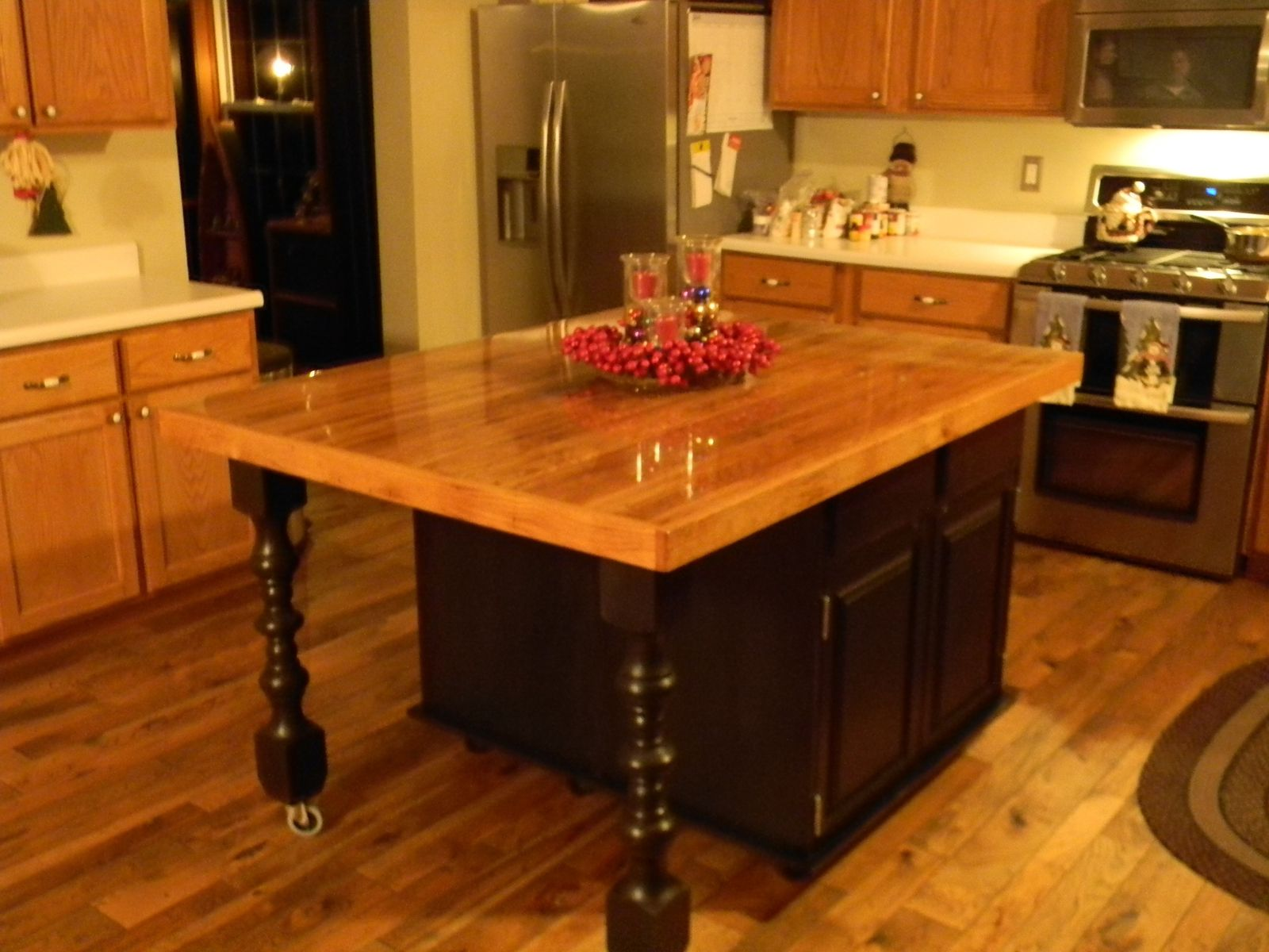 Excellent Kitchen Island Made From Cabinets Amp Tj94