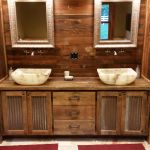 Buy Hand Crafted Custom Made Double Vanity With 3 Center Drawers Made To Order From Heartland Woodworking And Furniture Custommade Com