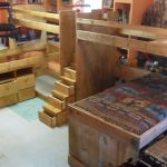 Handmade Bunk Beds Loft Beds Triple Bunk Beds Twin Full And Queen Sizes By The Bunk House Studio Custommade Com