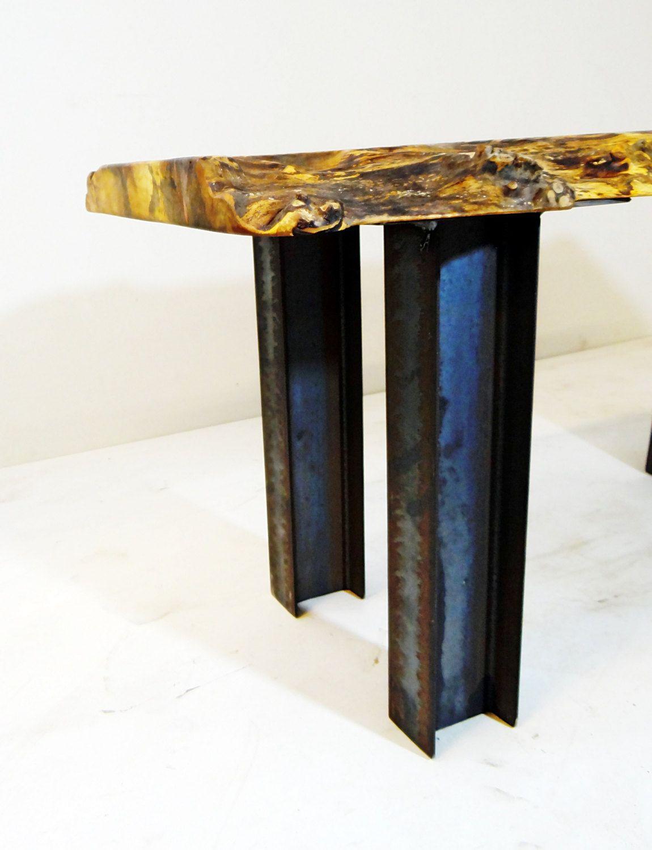 i beam pedestal coffee table legs