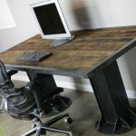 Buy Hand Made Modern Industrial Desk Vintage Modern Custom Sizes Configurations Dining Table Executive Made To Order From Combine 9 Custommade Com