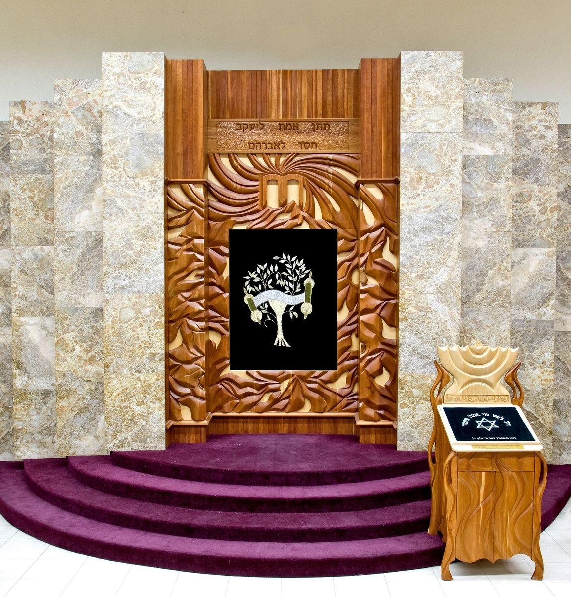Hand Made Mount Sinai Ark Aron Kodesh By Jeremy Kimchi