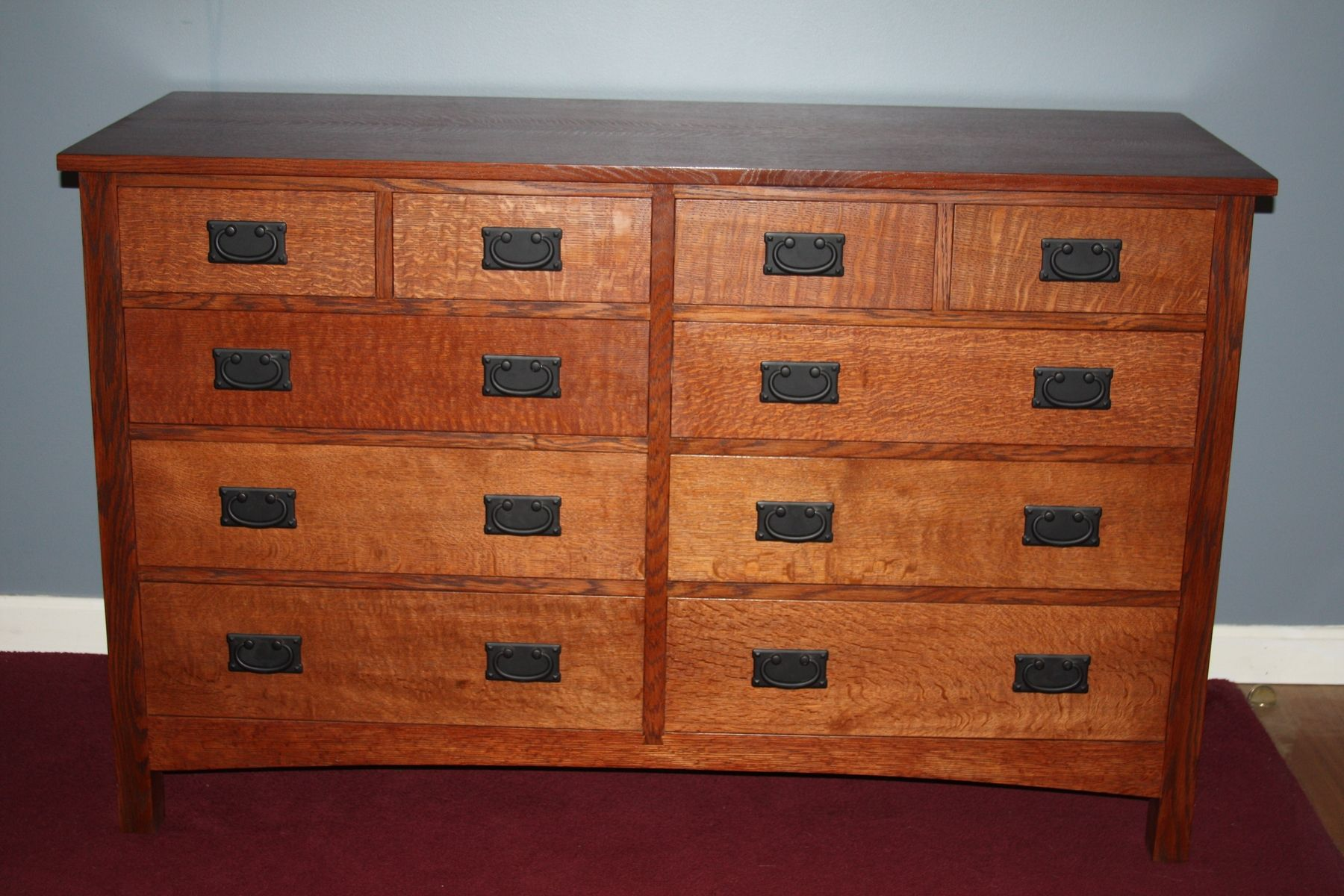 Custom Craftsman Chest Of Drawers By Ryan Messier