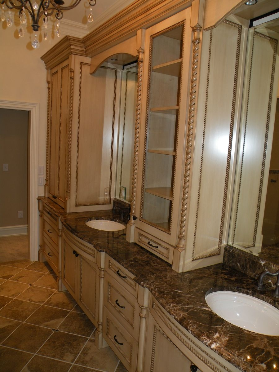 Custom Classical French Master Bathroom By Zci Woodworks