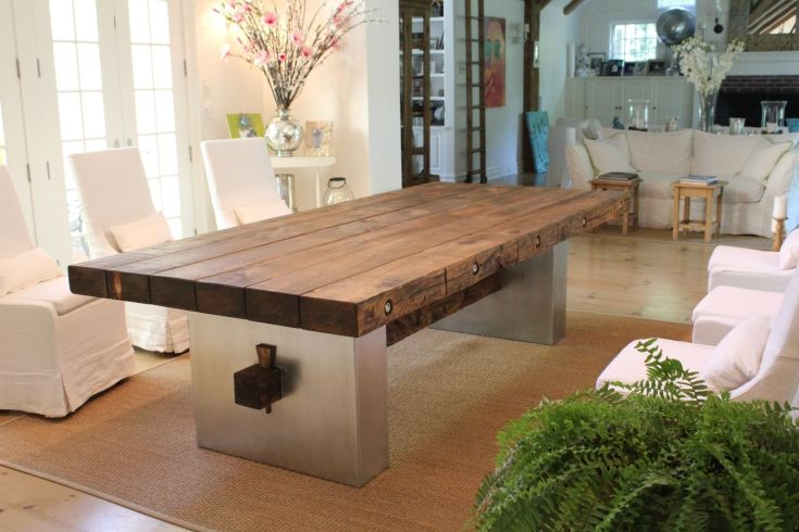 custom barn wood dining table by j.r signature creations
