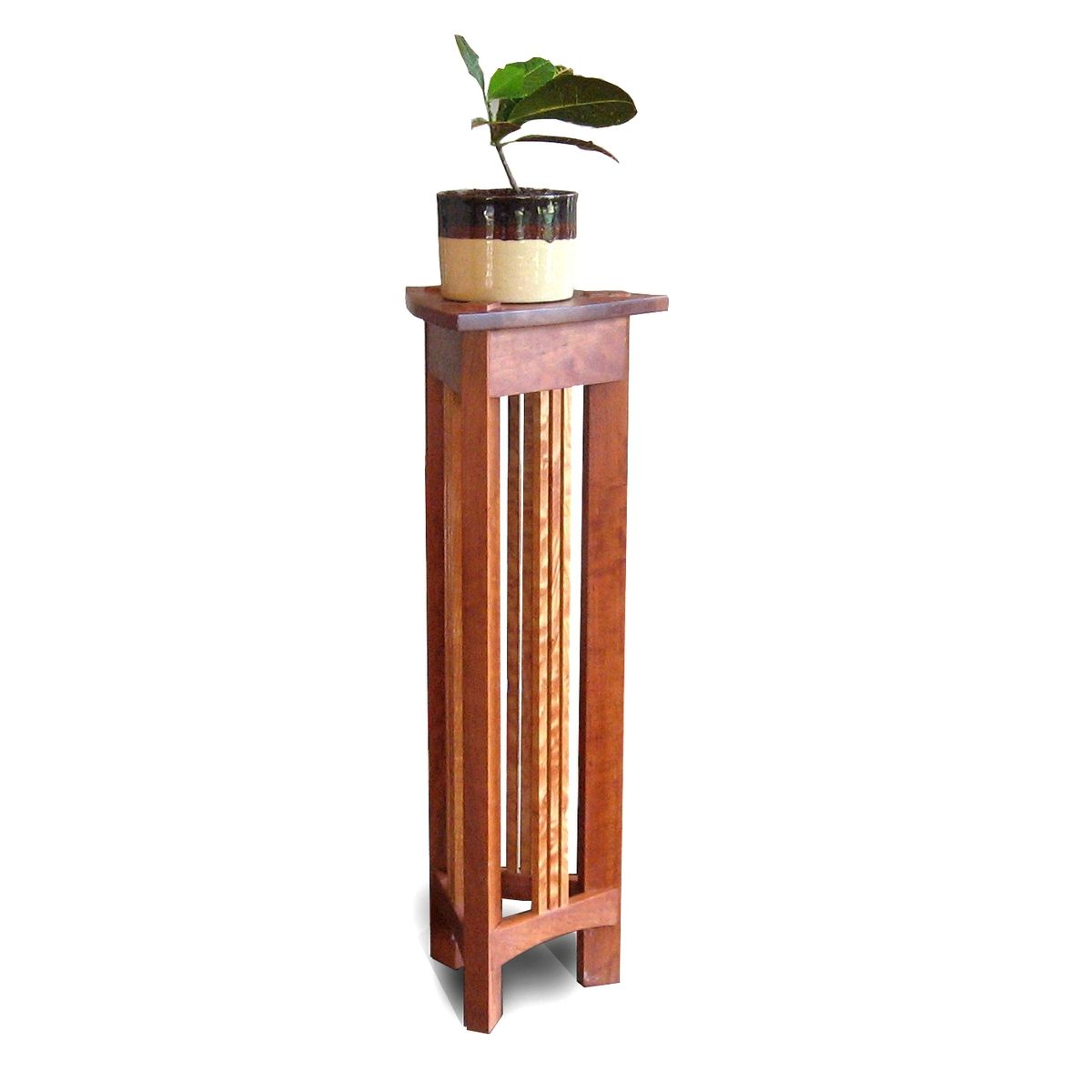 Tall Corner Plant Stand Plans Diy Free Download Varnish