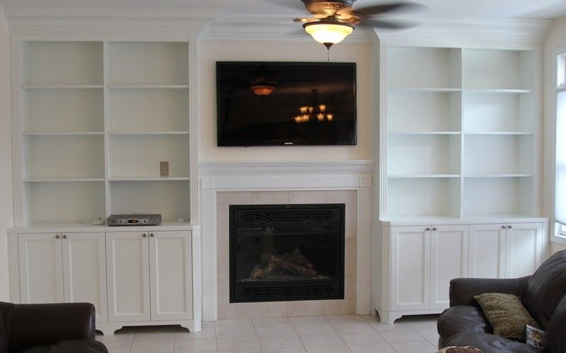 Custom Made Bookcases By Stan Loskot Fine Woodworking