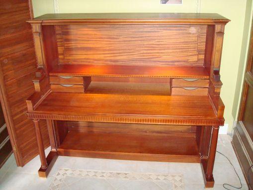 Custom Made Piano Desk By Feldkamp Design Associates Inc